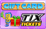 TIX Tickets Gift Card
